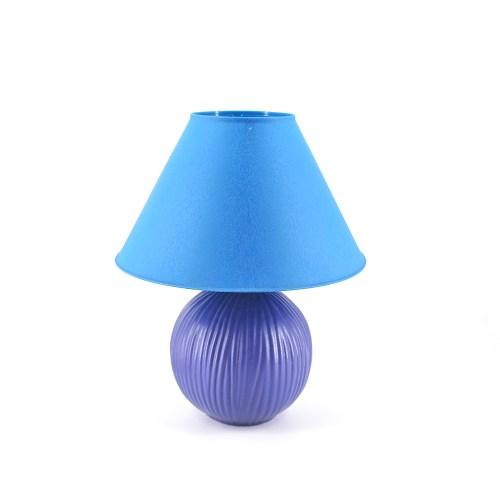 blauwe tafellamp Vandeheg