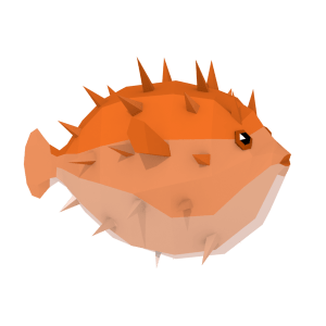 LowPoly Colurful Reef Fishes (part 1/3)