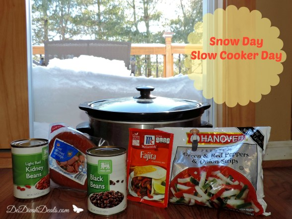 Snow Day Slow Cooker Day