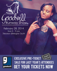 Goodwill Runway Show tickets poster