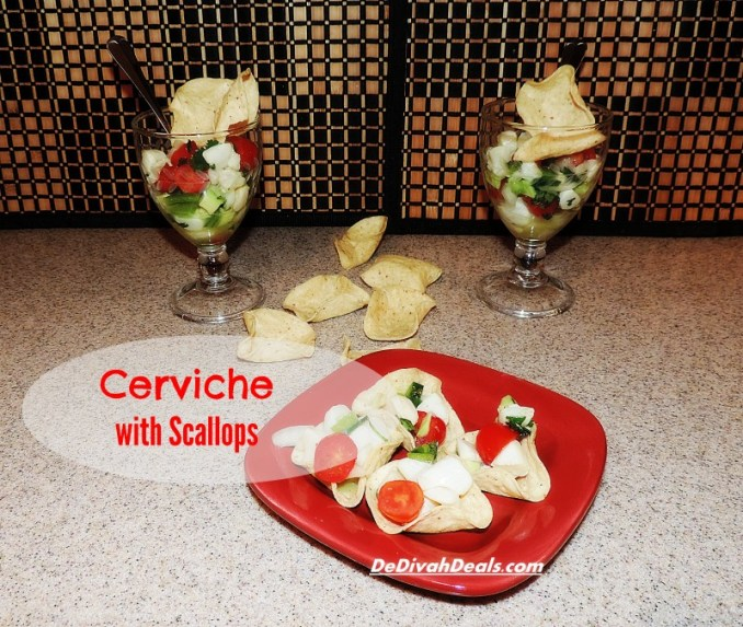 Ceviche with Bay Scallops