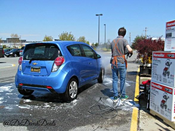 FREE Car Wash at Home Depot