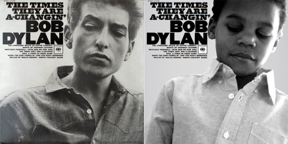 Bob Dylan Album Cover Recreated