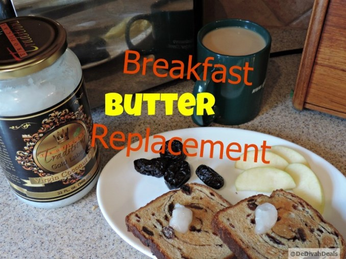 Virgin Coconut Oil as a butter replacement