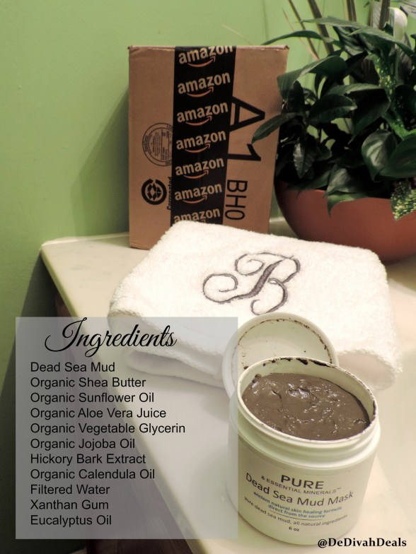 ingredients in Dead Sea Mud Mask