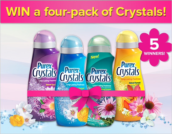 Enter to Win Purex Crystals
