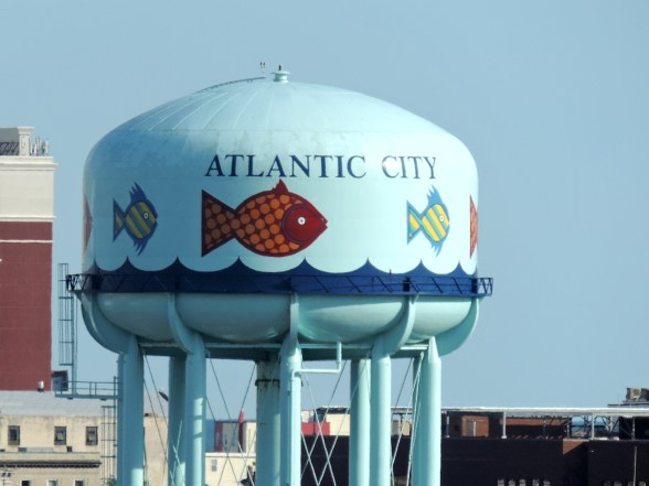 Atlantic City water tower