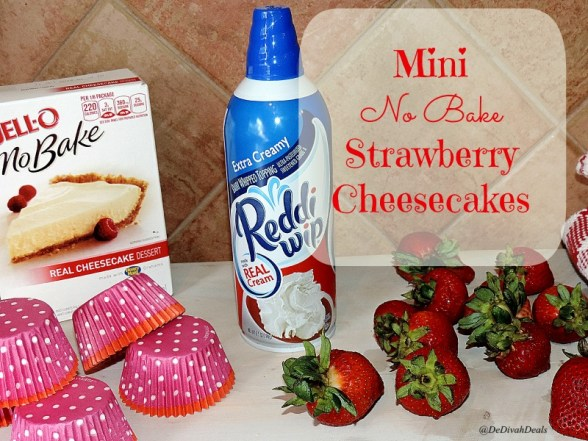 Cheesecakes with Reddi Wip