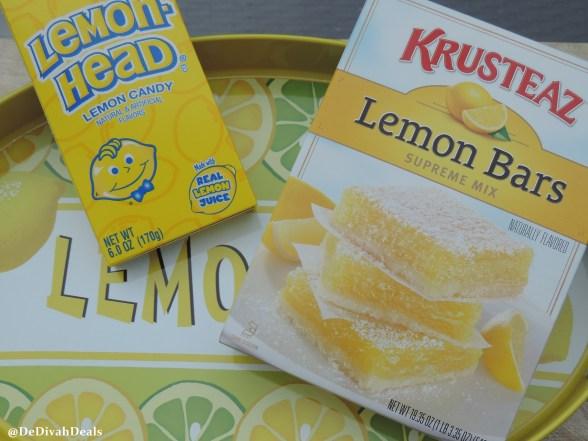 Lemonhead Lemon Bars