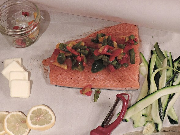 Friday Foodie Feature Sack of Salmon