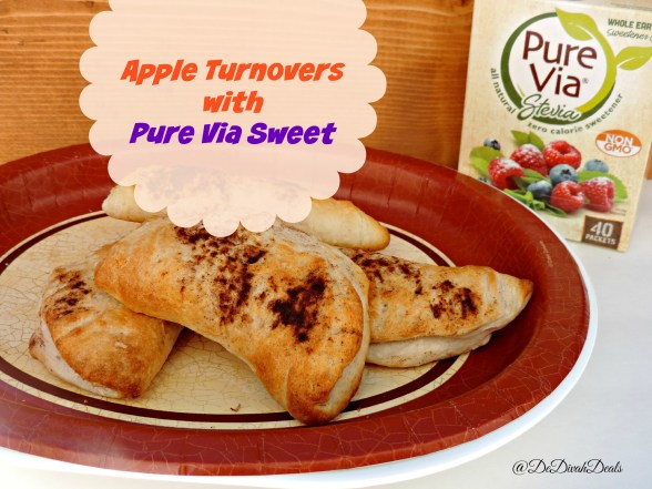 Apple Turnovers with Pure Via Sweet
