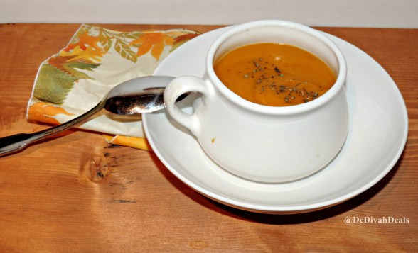 Butternut Squash and Sweet Potato Soup5