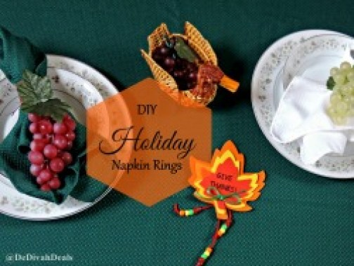DIY Napkin Rings avi