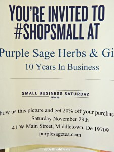 Shop Small Business Saturday 057