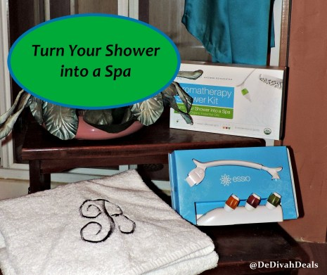 Turn your Shower in a Spa