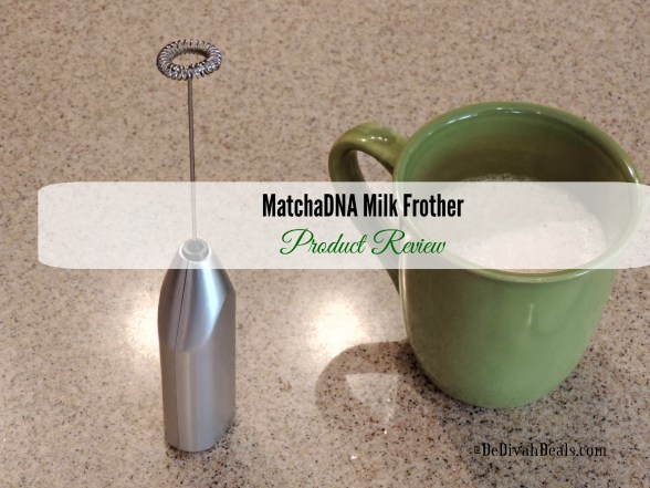 MatchaDNA Milk Frother