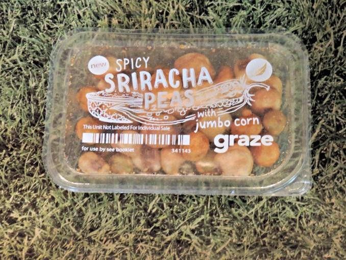 Spicy Sriracha Peas witj Jumbo Corn Graze