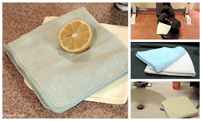 Spring Cleaning with Microfiber Cloths