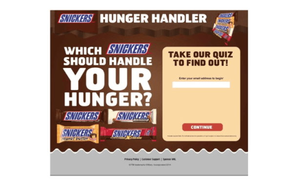 snickers image