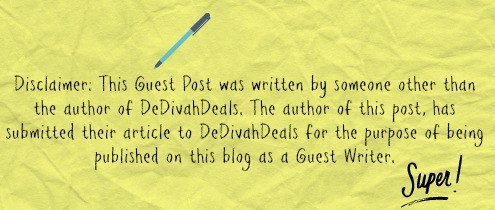 Guest Post Disclaimer