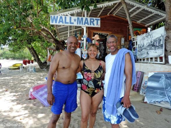 """On the beach at """"Wallmart"""""""