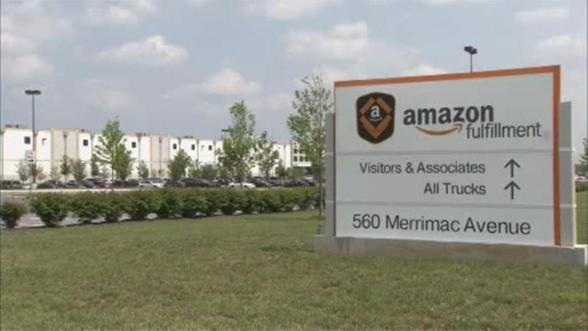Amazon fulfillment center in Middletown