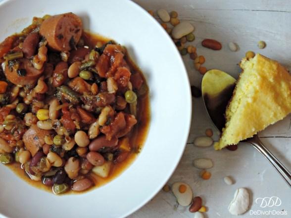 15 Bean Cajun Soup
