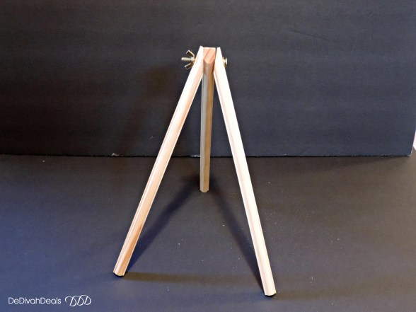 how to assemble a wooden easel