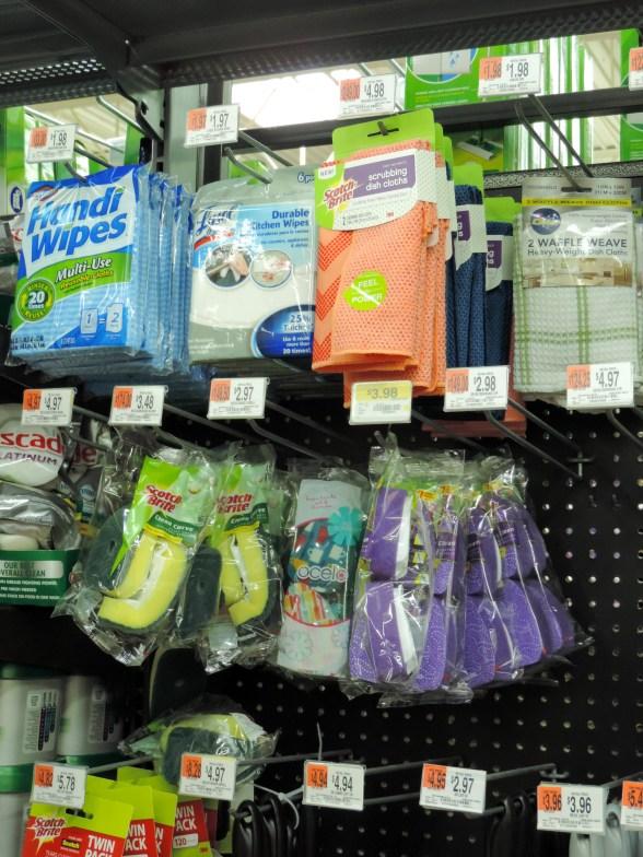 where to find Scotch Brite in Walmart