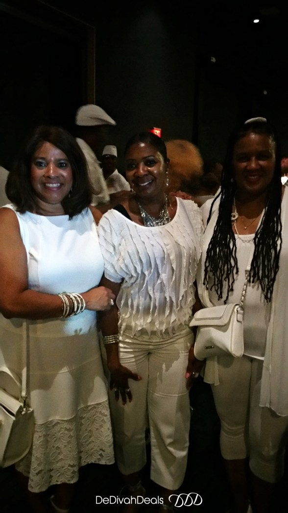 had a great time at the white party