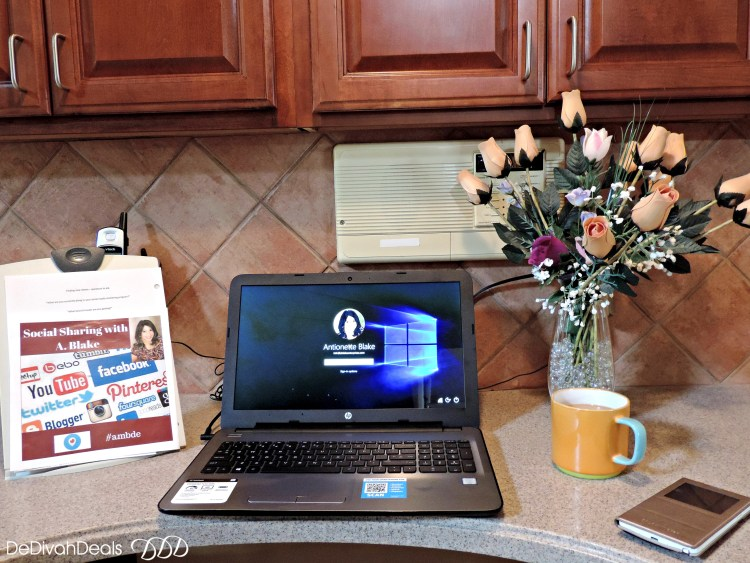 HP Notebook is perfect for blogging
