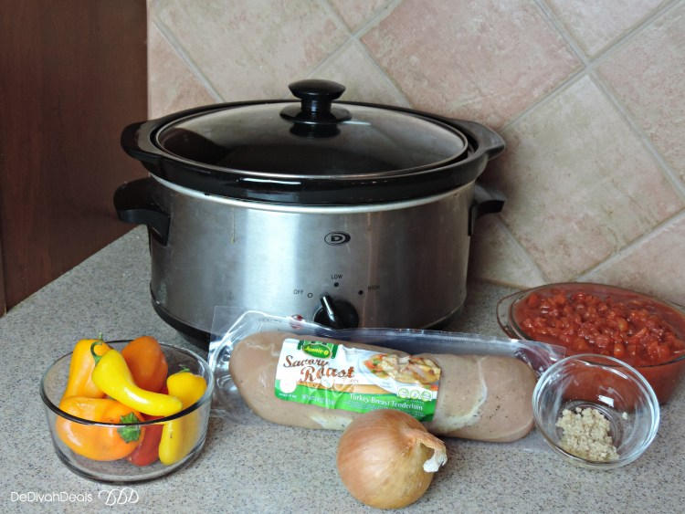 slow cooked turkey caccitore ingredients
