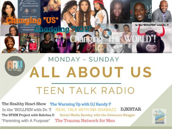 aau teen talk radio promo