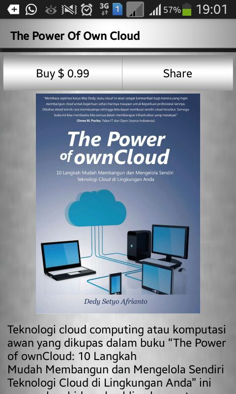 E-book The Power of ownCloud versi android