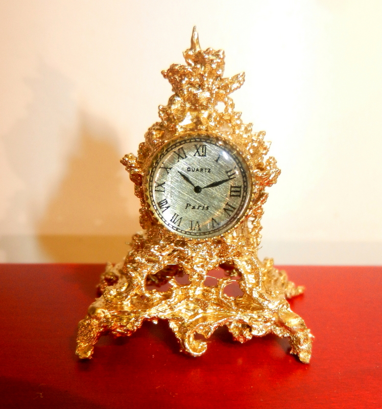 3D printed Baroque clock.