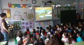 Talleres y carrera solidaria en el CEIP El Quijote
