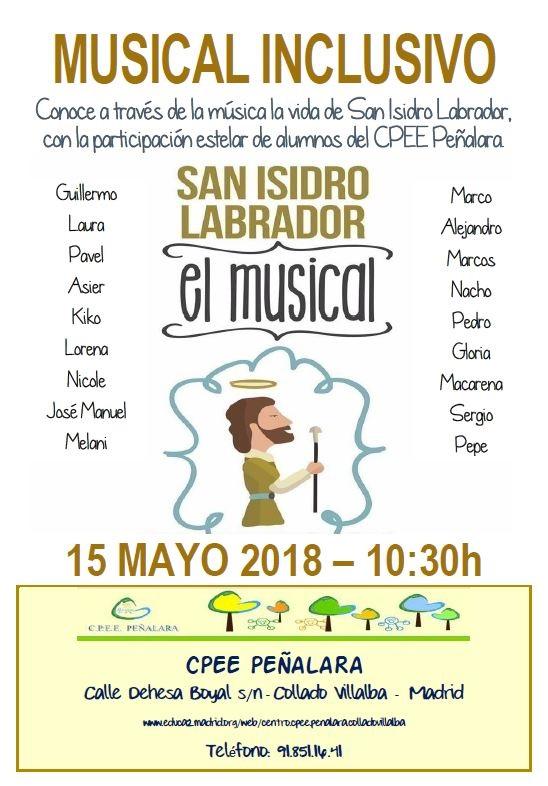 Musical inclusivo: San Isidro Labrador