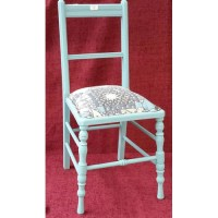 Edwardian painted bedroom chair