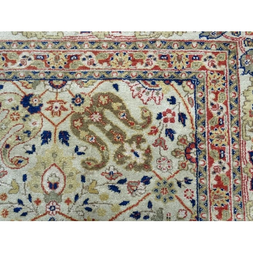 Carpet  Rug  A Large Machine Made Woollen Carpet , With
