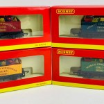 4x Hornby Christmas Wagons 2017 2018 2019 2020 All Boxed P P Group 2 18 Vat For The First