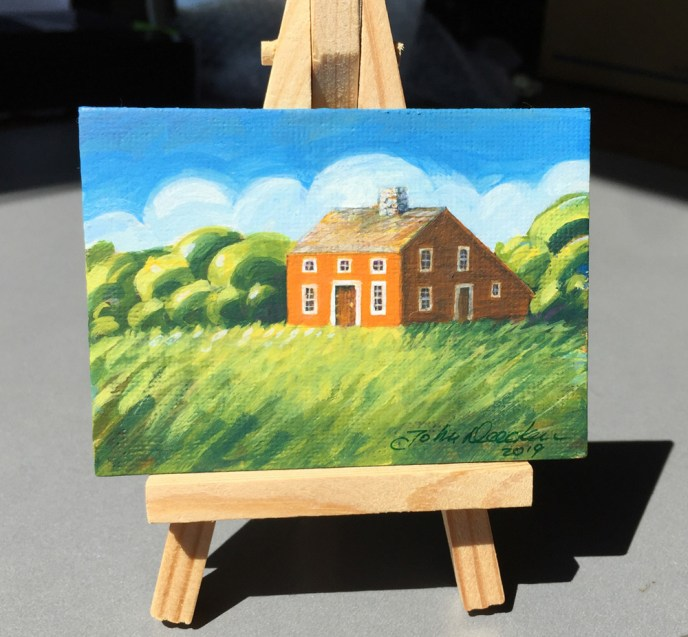 ACEO SALTBOX EASEL