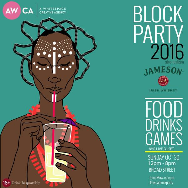 Awca Lagos Block Party Themed Afrorealism Deedee'