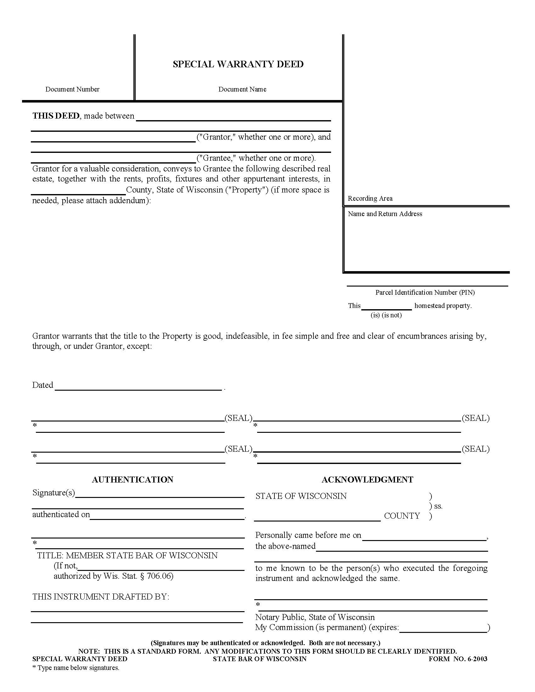 quit claim deed form wisconsin  Wisconsin Quit Claim Deed Form | Cover Letter Samples ...