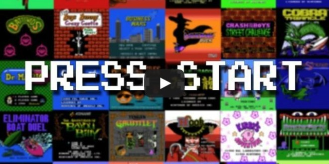Every NES game start screen