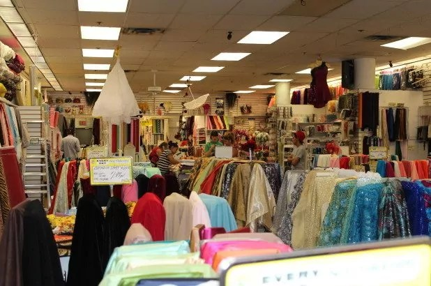 Hunting for bargains in Sewfisticated Fabrics