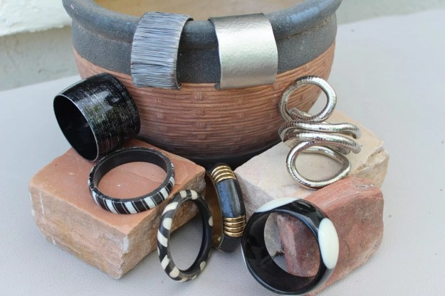 Cuff Bracelets, Bangles, wide and narrow