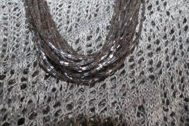Bugle Bead Necklace from Charlotte Russe