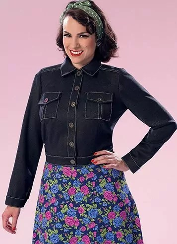Gertie Jacket, Butterick 6390