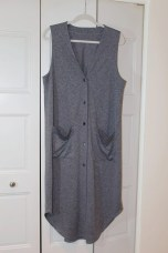 Dark Gray Vest McCalls 2260
