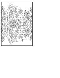thumbnail of Secret Garden Mirror Image Flowers